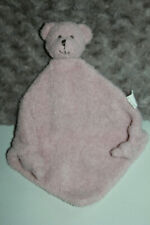 DOUDOU CADES OURS PLAT ROSE 2 NOEUDS