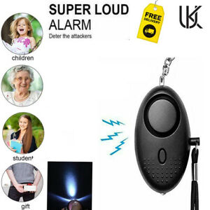 Safety Security Alarm Police Approved Alarm 140db Rape Attack Panic Attack UK