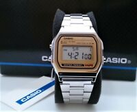 Reloj Digital CASIO A158WEA-9C - Calendario Automatico - Modulo Original 593