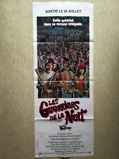 Les guerriers de la nuit (The Warriors) 1984 Walter Hill, Beck, Remar - RARE