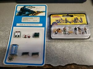Bachmann Trains H O Park Assortment - pack of 9 42209 / Scenic Accents Mason Wrk