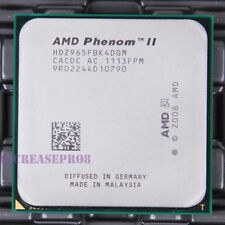 AMD Phenom II X4 965 HDZ965FBK4DGM CPU Processor 2000 MHz 3.4 GHz Socket AM3