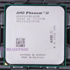 AMD Phenom II x4 965 hdz965fbk4dgm CPU Processor 2000 MHz 3.4 GHz socket am3