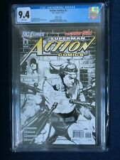 Action Comics #2 1:200 Rags Morales Sketch Variant CGC 9.4 New 52 2011