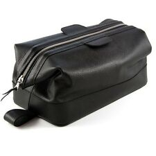 Daines and Hathaway Earth Black Luxury Large Wash Bag