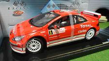 PEUGEOT 307 WRC Rallye Monte Carlo #5 Gronhölm 2004 au 1/18 SOLIDO 9044 voiture