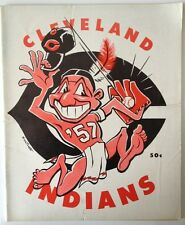 1957 Cleveland Indians Yearbook