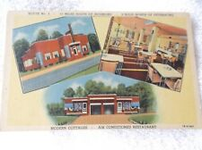 PETERSBURG,VIRGINIA-MOORES BRICK COTTAGES-G CRUMP,owner-RT 1-multiview postcard