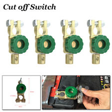 4PCS Car Battery Power Off Switch Truck Link Terminal Quick Cut-off Switch Trim