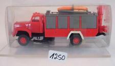 Roskopf RMM 1/87 Nr.442 Saurer D 290/330 Feuerwehr Rüstwagen m. Hebekran #1250