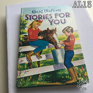 Vintage Book Title: Stories for You by Enid Blyton, Hardback 1966 (603 03264 8)