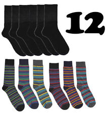 Unbranded Striped Regular Size Socks for Men