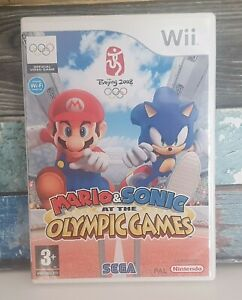 Nintendo Wii Game Mario And Sonic At The Olympic Games 2008
