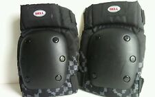 Bell Gray and Black Contoured Knee Pads with Stretch Fit Sleeve RN110269
