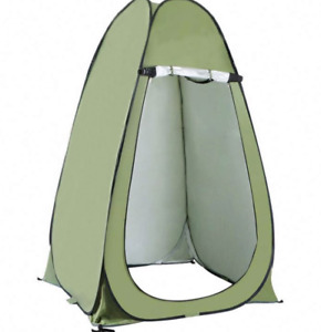 Portable Pop Up Toilet Shower Tent Changing Room Easy Set Camping Shelter
