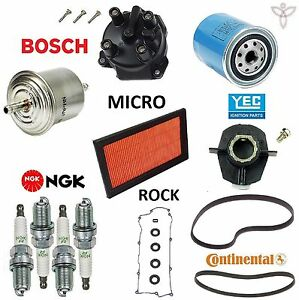Tune Up Kit Filters Belts Plugs Gaskets for Nissan Sentra L4;1.6L 1995-1999