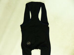 BLACK CASTELLI STRATO SHEER BIB TIGHTS WINTER CYCLING CYCLE PANTS TROUSERS s. S
