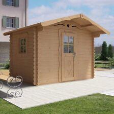 Casetta legno giardino LA PRATOLINA alta qualità spessore 33 mm di abete 3x2