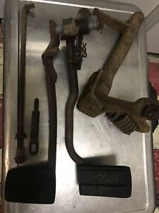 1965 66 FORD Galaxie 500 XL 390 427 428 4 speed Brake and Clutch Pedals
