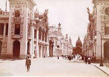 C061 Photo Citrate Original Expo Universelle Paris 1900 animée