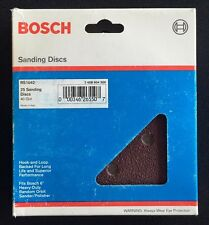 Bosch SR1042 6 in. 6-Hole 40 Grit Hook and Loop Sanding Disc in Red (25-Pack)