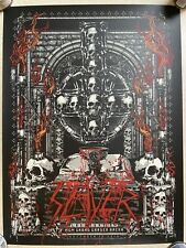 Slayer Tour Poster - Final Campaign 2019