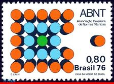 1492 BRAZIL 1976 ABNT, BRAZILIAN BUREAU OF STANDARDS, SCIENCE, MI# 1577, MNH