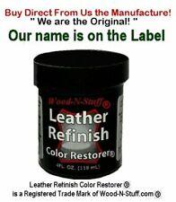 Leather Refinish Color Restorer ® Dark Grey 4 oz Refill We are the Original!