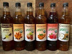 Joe's Organic Flavored Syrup in Plastic Bottle (750 ml)
