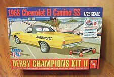 AMT 1968 CHEVROLET EL CAMINO SS 1/25 MODEL KIT with bonus soap box derby car