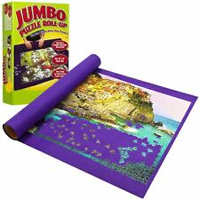 GIANT JIGSAW PUZZLE ROLL-UP MAT 3000 PIECES JUMBO LARGE FLOOR MAT EASY STORAGE