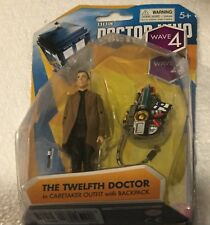 BBC Doctor Who The Twelfth Doctor In Caretaker Outfit with Backpack ~ Wave 4