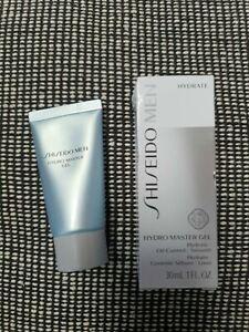 Shiseido Men Hydro Master Gel 30ml Hydrate Oil Control Smooth NEW BOXED