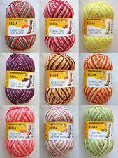 REGIA - Cotton - Tutti Frutti Color - Sockenwolle - 4fach - 100g - Baumwolle