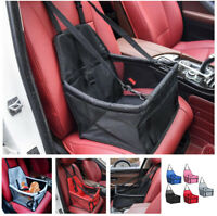 Pet Dog Carrier Car Seat Pad Safe Carry House Car Travel Accessories Waterproof