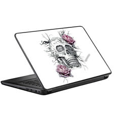 Skins for HP 2000 Laptop Decals wrap - Roses in Skull