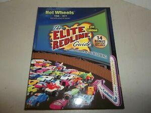 THE ELITE REDLINE GUIDE 2nd EDITION HOT WHEELS REDLINE CARS BOOK NEW NEVER USED!