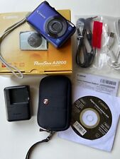 Canon PowerShot A2200 14.1MP Digital Camera - Blue