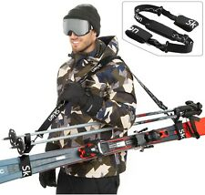 SKLON Ski Strap & Pole Carrier_Avoid the Struggle & Easily Transport Your Gear