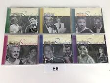 LOT OF 6 CD'S  THE DEFINITIVE AMERICAN SONGBOOK WHEN SWING WAS KING    E8