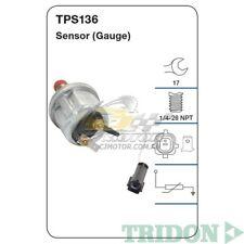 TRIDON OIL PRESSURE FOR Ford FPV Falcon 10/05-05/08 4.0L(Barra 270T) VCT