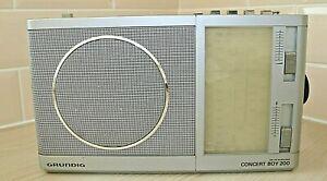 Grundig Concert Boy 200 5 band radio