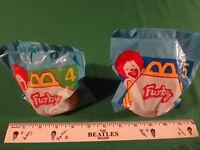 LOT OF 2 1998 FURBY MCDONALD'S TOYS