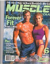 MUSCLE MEDIA bodybuilding magazine/Rusty Joiner+Shana Hiatt Van Patten 10-00 #81