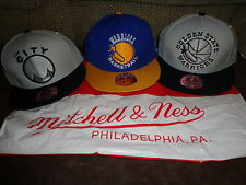 GOLDEN STATE WARRIORS~MITCHELL & NESS~LOT OF 3 FITTED HAT/CAP ALL SIZE 7