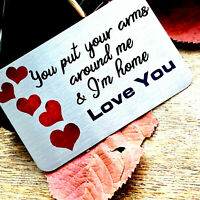 Romantic Gift for him women her Love Men Anniversary wife Husband Personalise