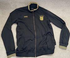 MENS Black Adidas Muhammad Ali Zip Up Jacket Limited Edition 2XT Tall Fit
