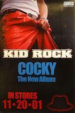 Kid Rock 24x36 Cocky Promo Poster 2001