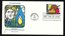 #1723 13c Energy Conservation - Fossil Fuel - Fleetwood FDC
