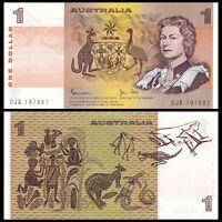 Australia 1 Dollar, 1983, P-42d, UNC